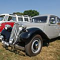 La traction avant. modèle phare de citroën.