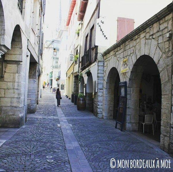 Mon Bordeaux à Moi patrimoine Bayonne Rue Port Neuf Bordeaux