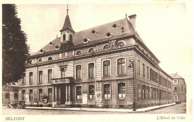 Belfort CPA Hôtel de ville