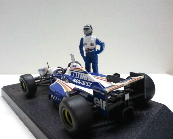 Williams FW18- Damon Hill (3)