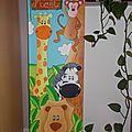 Commande de trois tableaux sur le thème des animaux de la jungle ...
