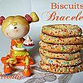 Biscuits bracelets très