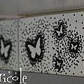 Idée déco papier avec des papillons (diy)