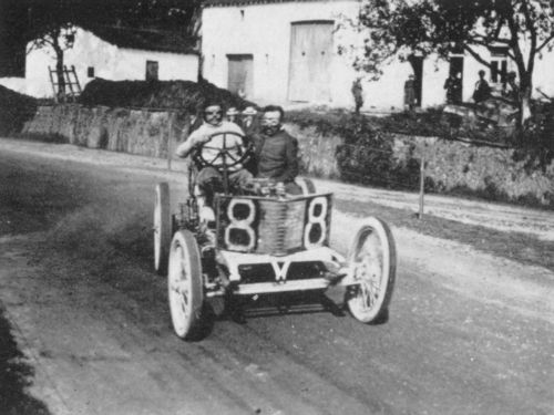 1906 circuit des ardennes - louis wagner (darracq 120hp) 8th