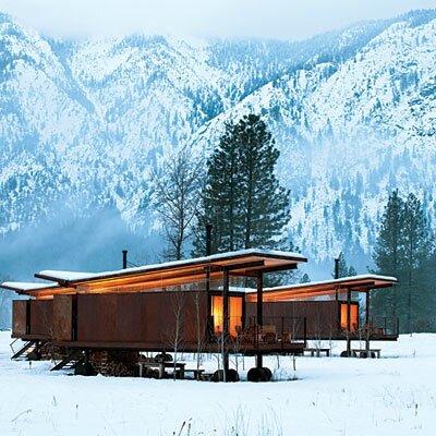 maison ski