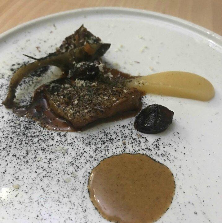 Quasi de veau de lait, artichaut barigoule (1)