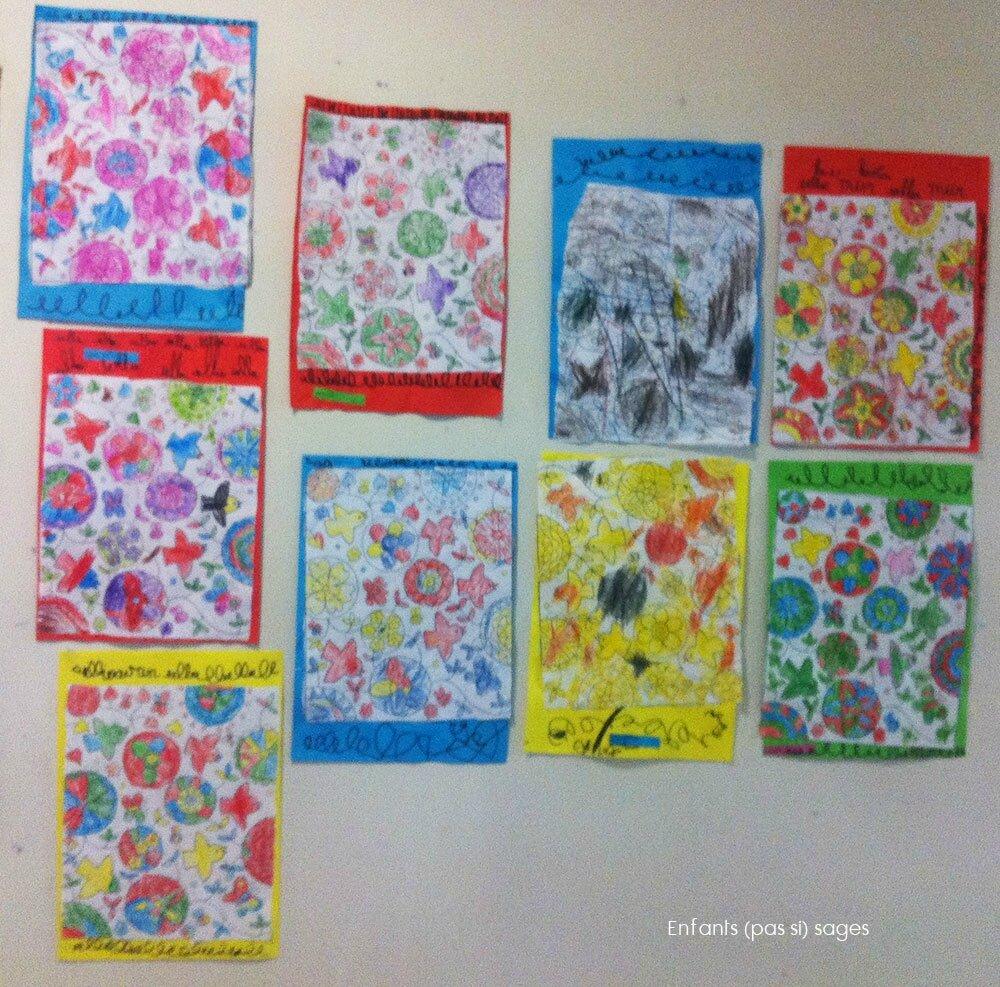 Coloriage Printemps Grande Section.Coloriage Tous Les Messages Sur Coloriage Enfants Pas Si Sages