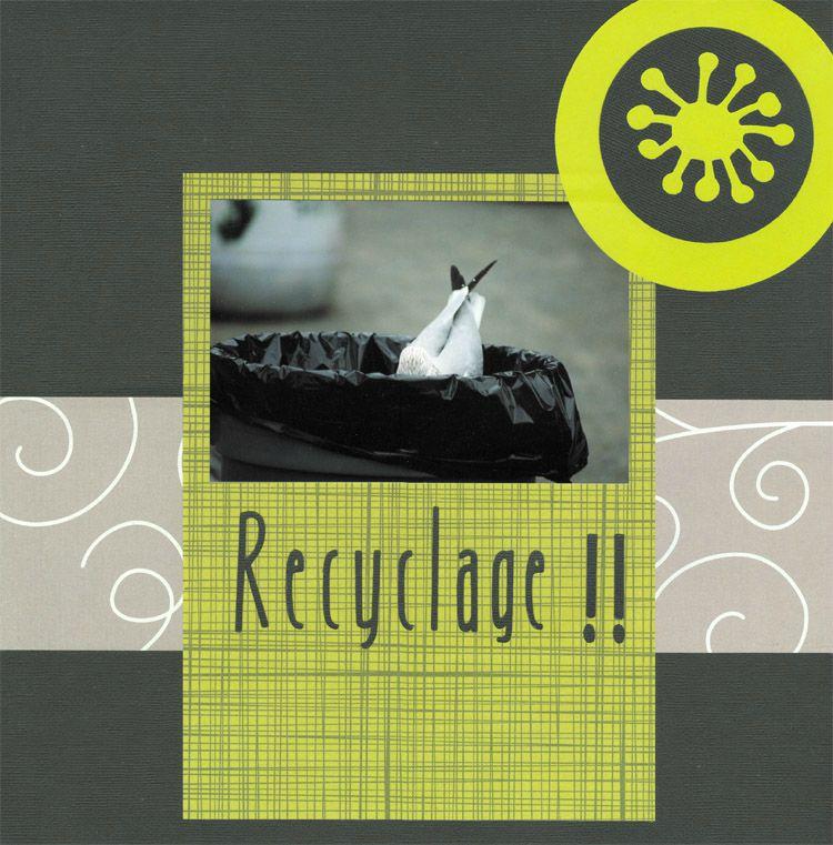 Recyclage-Zoo de Granby-Estrie