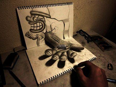 nagaihi-deyuki-art-illusion-perspective-dessin-croquis-3d-japonais-03