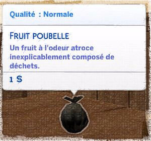 fruit poubelle