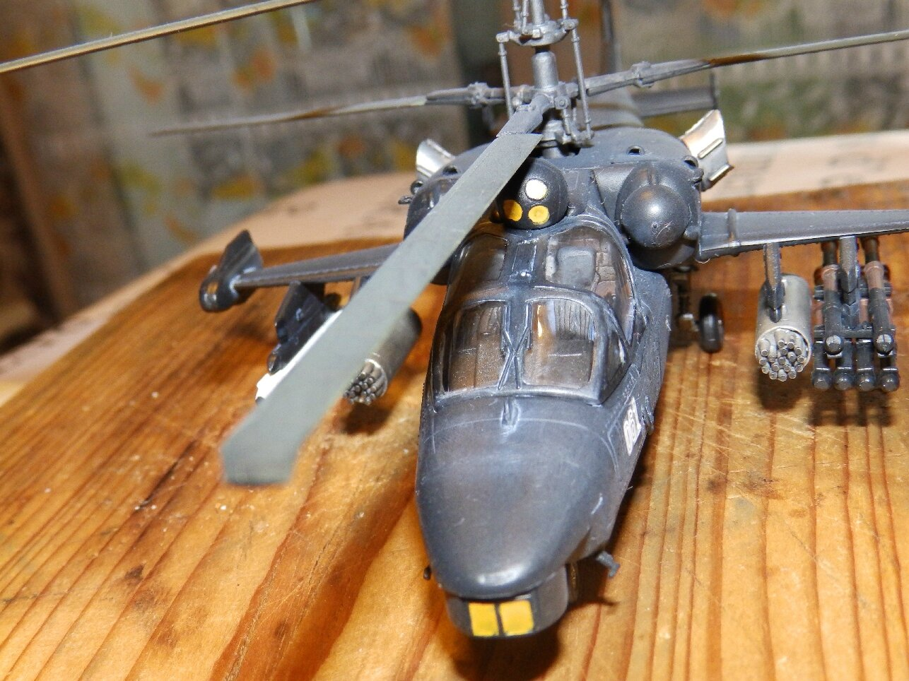KAMOVE KA-52 ALLIGATOR FINI!!!!!!!