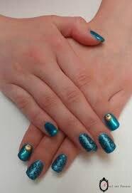 Nail art Sirène3