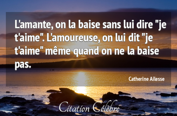Citation Catherine Ailesse