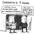 Pipo et molo et les commémorations du 11 novembre, poilus et blague à la con