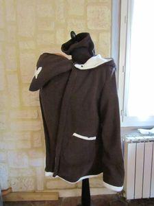 veste de portage chocolat doublé chocolat blanc féérique (2)