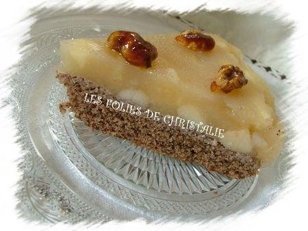 Gâteau aux noix à la gelée de pommes 9