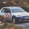 Rallye du Var 2001 : Jean Paul TERRAL - Cyril LABORDERIE