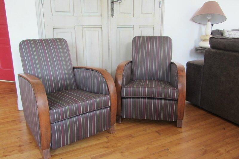 fauteuils à refaire Bohars atelier côté sièges