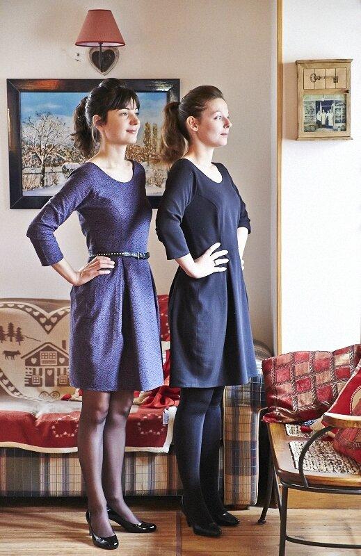 Robe Bordeaux Romanne Couture 8