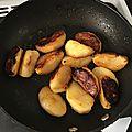 Pommes fuits caramélisées