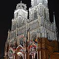 Cathédrale Sainte-Croix - Orléans by night