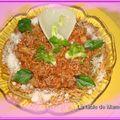 Spaghetti sauce bolognaise au fenouil