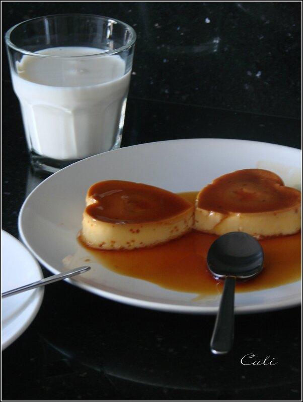 Crème Renversée à la Vanille & Caramel 002