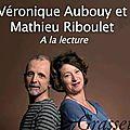 Véronique AUBOUY et Mathieu RIBOULET