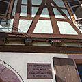 Kaysersberg, maison natale du Docteur Albert Schweitzer
