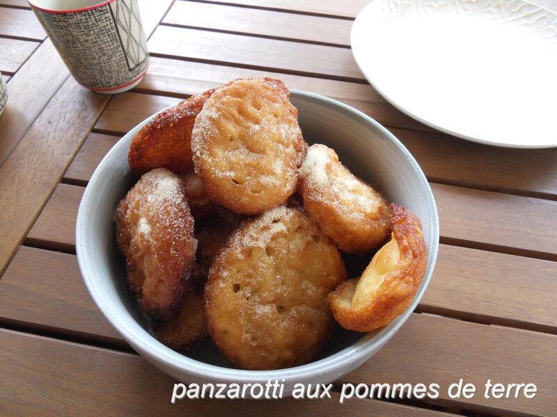 panzarotti aux pommes de terre