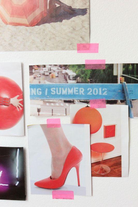 Regards et Maisons Blog Summer moodboard