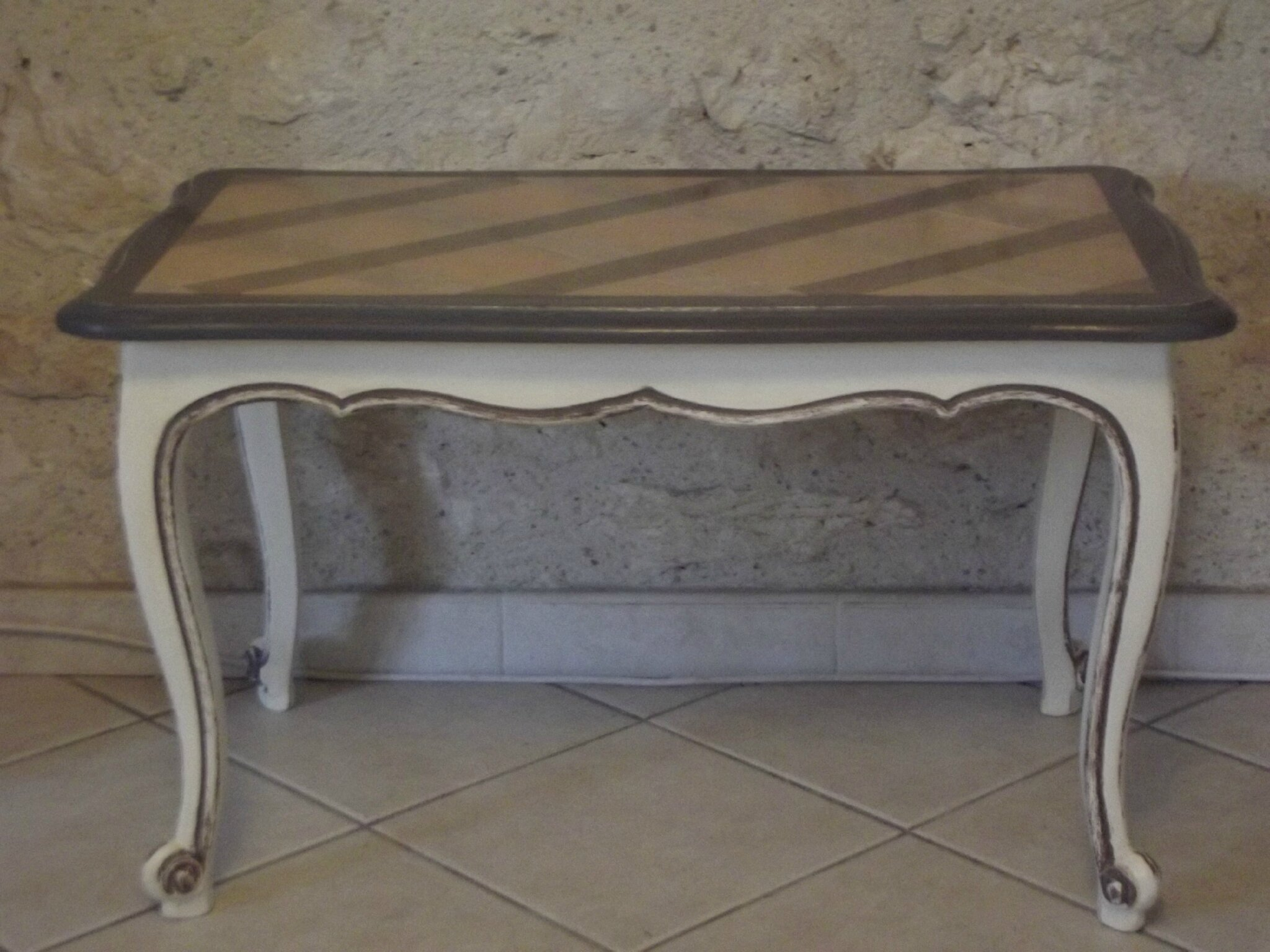 Table Basse Louis Xv Patine Deco
