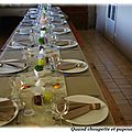 Ma table du desert
