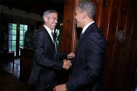 Clooney and Obama