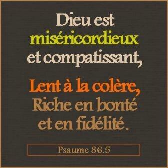 L-Eternel est misericordieux(1)