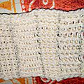 Test de points de tricotins rectangulaires