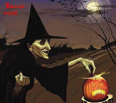 hallow sorcière