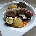 Sauté d'agneau aux 5 légumes, une idée pour pâques