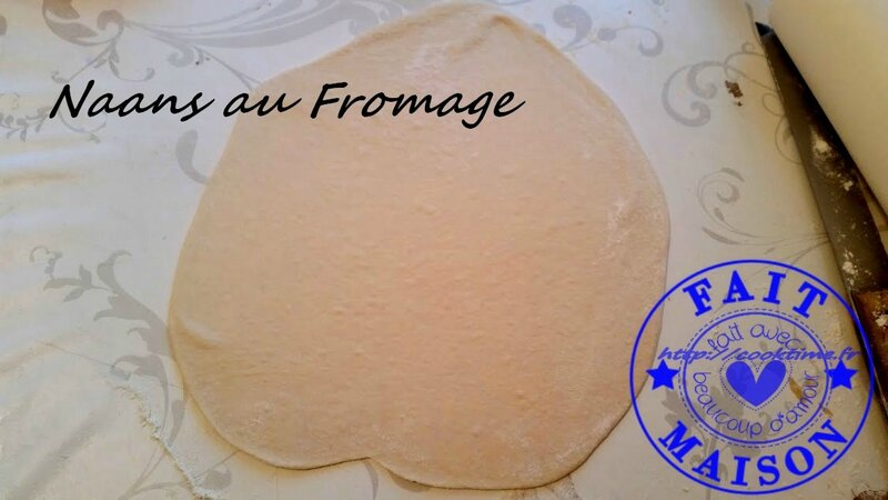 Naans au fromage 2