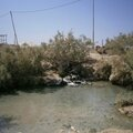 source d'eau chaud près à Afrera à l'est de l'Ethiopie