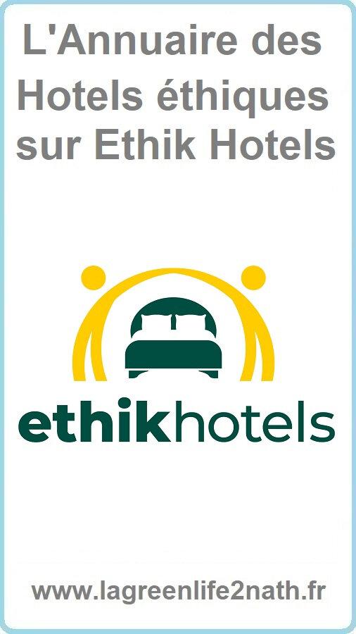 L'Annuaire des Hotels éthiques sur Ethik Hotels