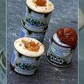 Petite boite de crème de marrons, faisselle et crumble céréales...