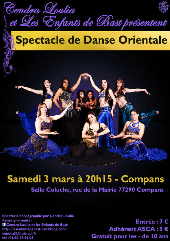 a/ affiche Spectacle