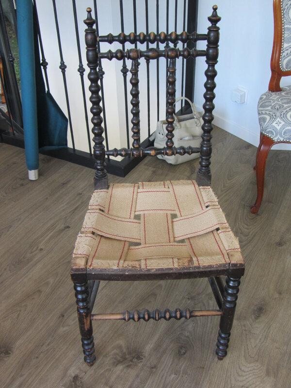 chaise napoleon III