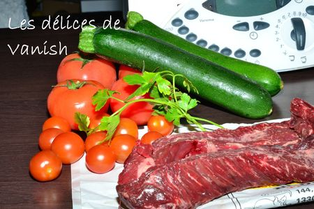 onglet-boeuf-tomates cerises-courgettes-recette