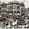 1917-06-21 Londres 1 078_001_royaume-uni-angleterre-lo-ndon-united-kingdom-england-1920-picc-adilly-circus-london-tram-attela-ge-car