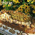 Cake matcha mirabelles