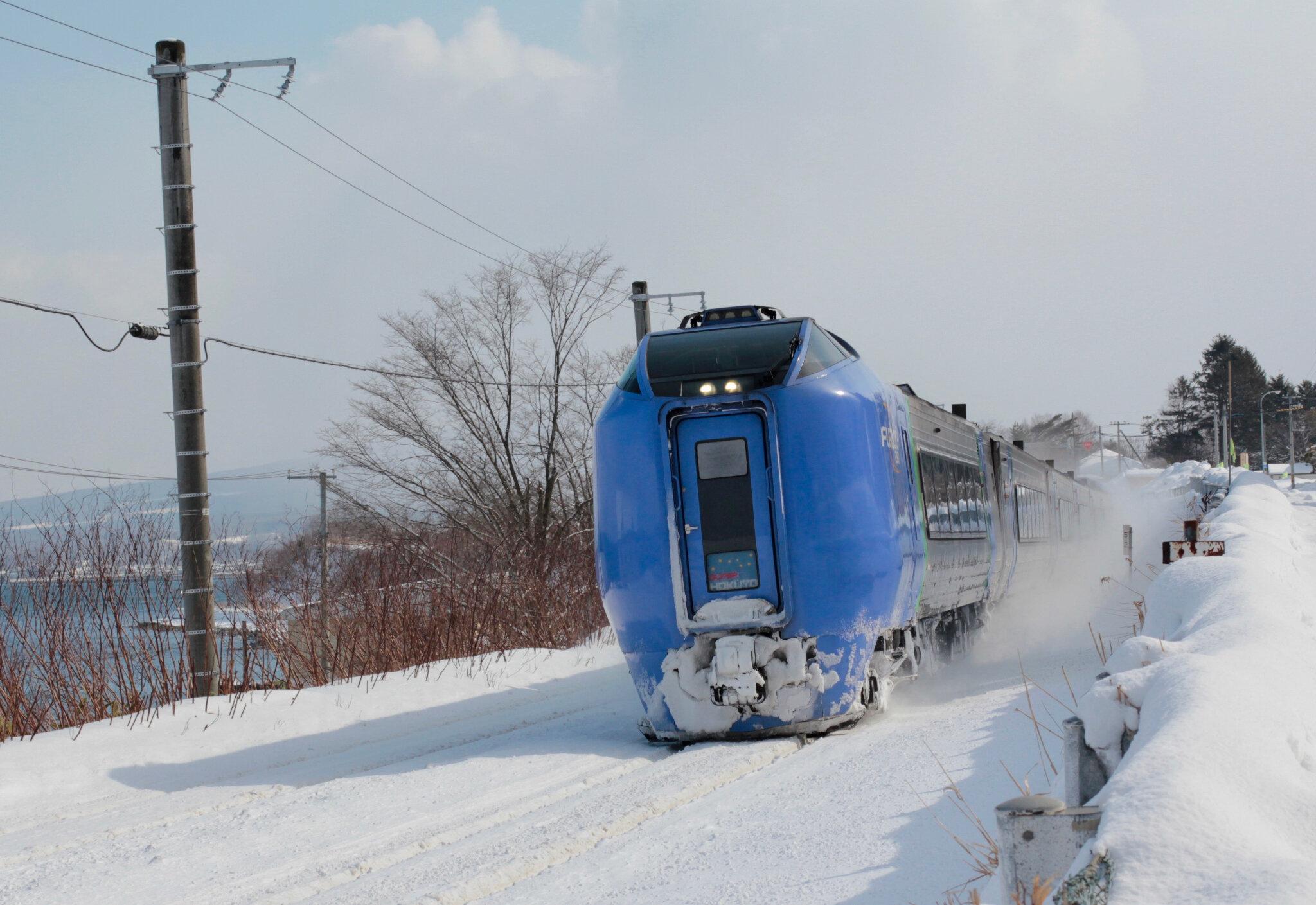 JR KiHa281 Furico 'Super Hokuto', Mori.