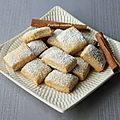 Petits biscuits au vin blanc