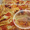 Chinois tomates, chorizo et mozzarella (au thermomix ou pas)